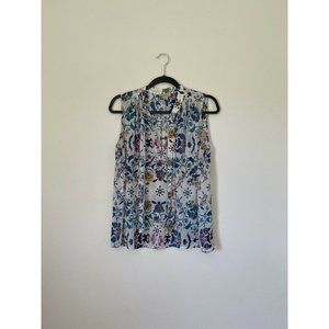 Lucky Brand Sleeveless Blouse Size Large